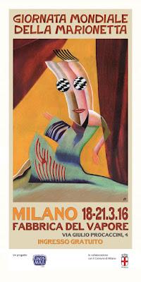 Milano, Giornata Mondiale della Marionetta