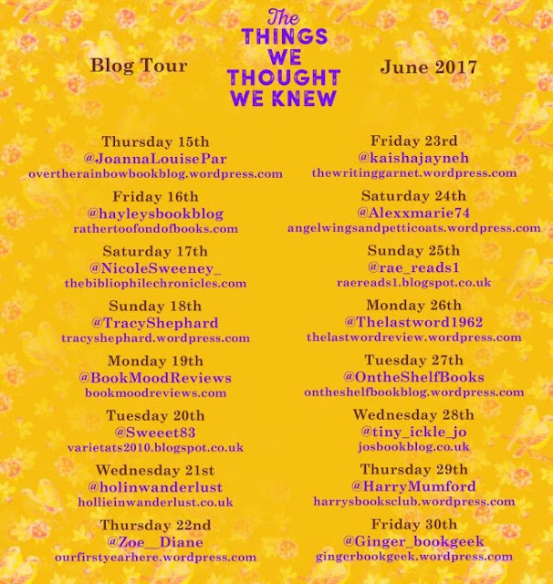 Blog Tour: The Things We Thought We Knew by Mahsuda Snaith | Hollie in Wanderlust