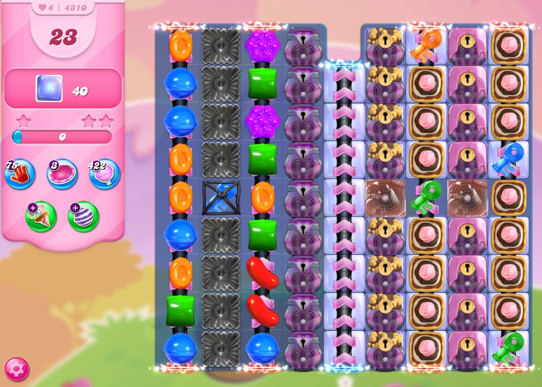 Candy Crush Saga level 4310