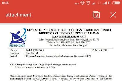 Peluang Itu Selalu Ada, info lomba menulis 2018