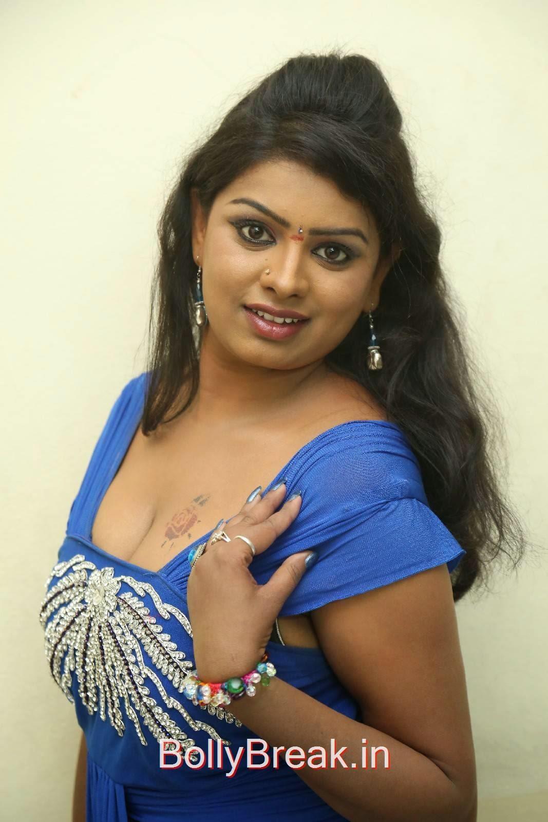 Sridevi Unseen Stills, Sridevi Hot Pics In Blue Dress Romantic Target Movie Teaser Launch