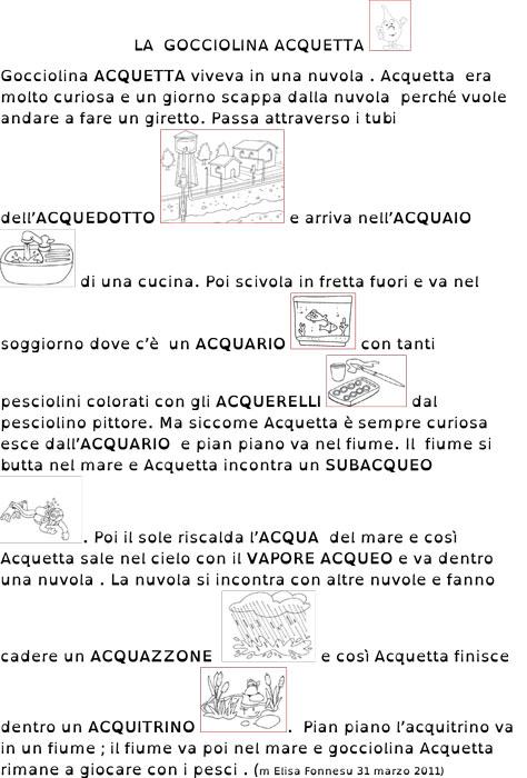 Top matiteinvolo: ACQUA E LA SUA FAMIGLIA XI53