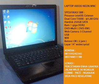 Jual Laptop Axioo Neon MNC