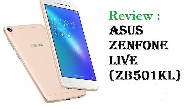 Review Harga Dan Spesifikasi Asus Zenfone Live ZB501KL Terbaru