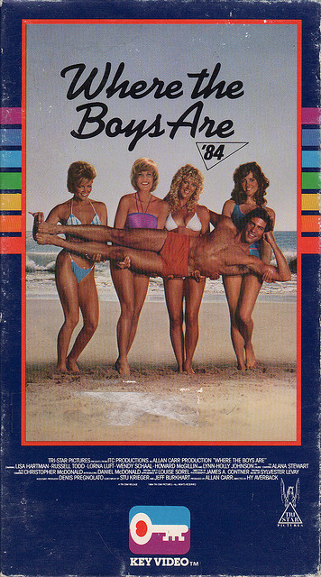 Poster Where the Boys are '84 1984 movieloversreviews.filminspector.com