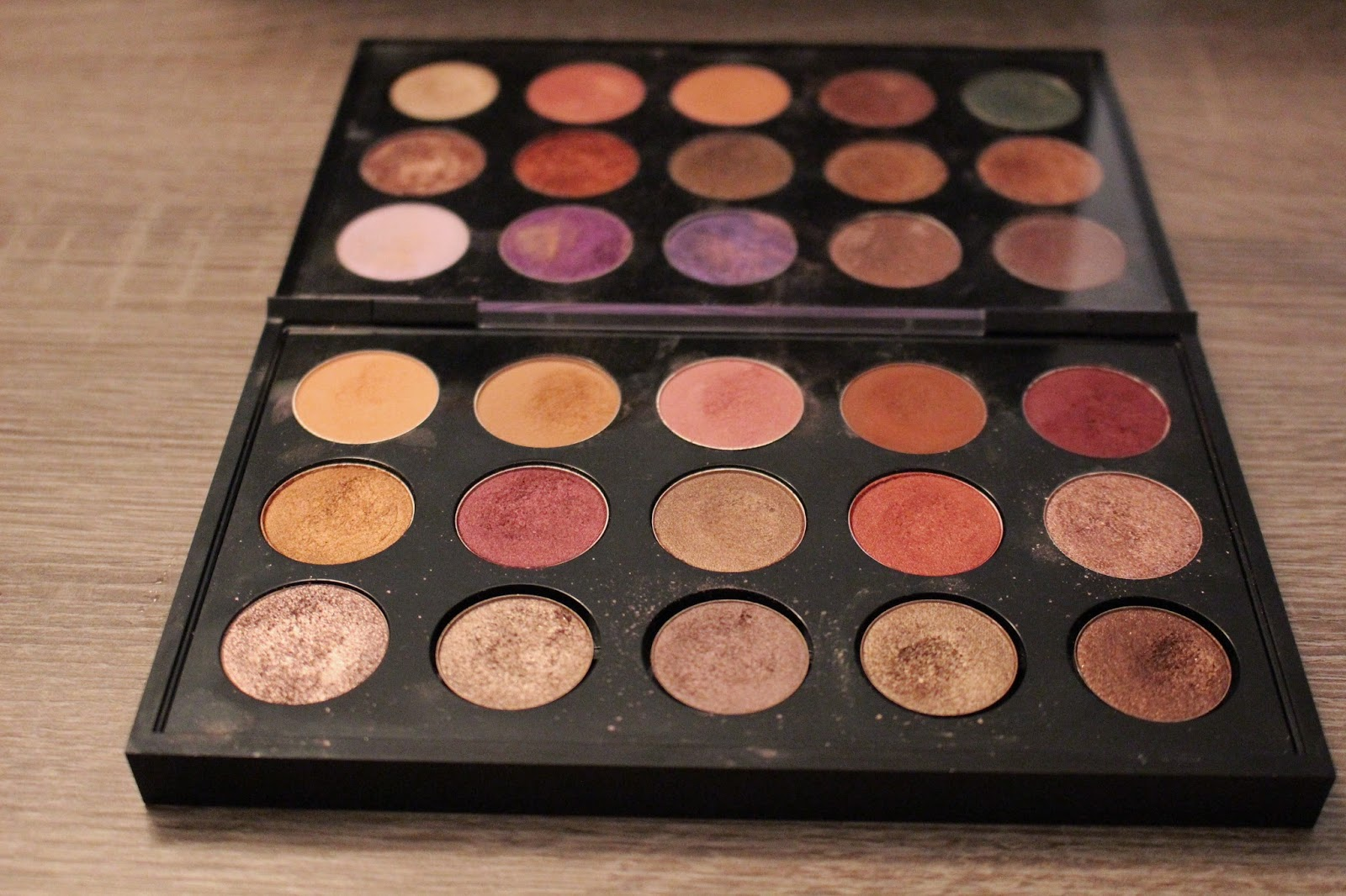 One Week, One Palette: Custom MAC, Makeup Geek, Make Up For Ever, and Morphe Palette