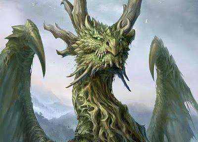 Villanos - Dragón Verde
