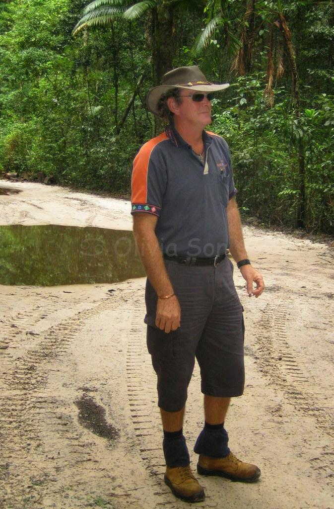 Guide, Fraser Island, Queensland, Australie