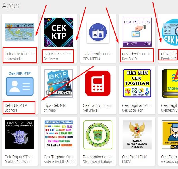 Cara Cek Status NIK Online Lewat Aplikasi Android 2