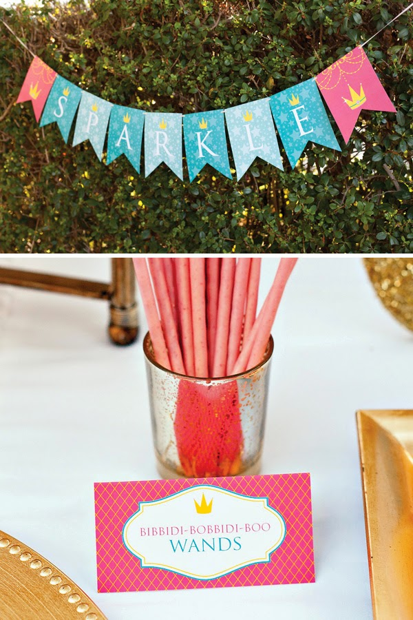 Inspired in Disney Princess: Free Printable Party Kit