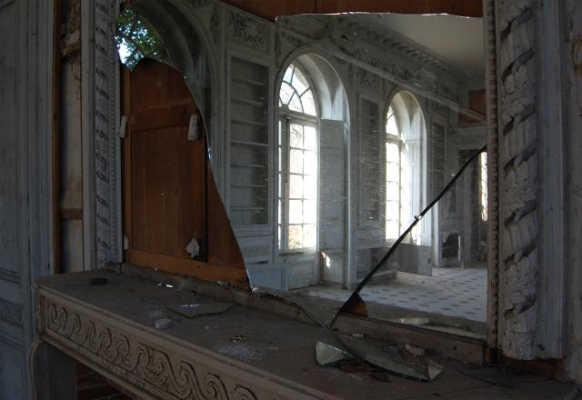 palacete abandonado en Francia