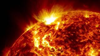 Fotografía de la Superficie del Sol