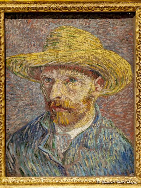Van Gogh, Autorretrato con Sombrero de Paja - MET, Nueva York por El Guisante Verde Project