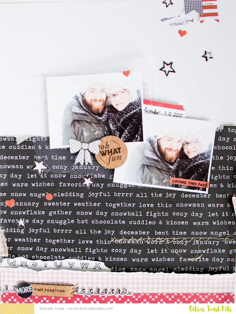 Oh What Fun by ScatteredConfetti. // #scrapbooking #citrustwistkits #layout