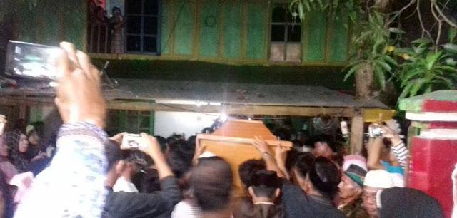 Jenazah Korban Dimakamkan di Luwu, Cakka Sampaikan Bela Sungkawa