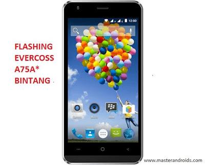 Flashing-Evercoss-A75A-Bintang