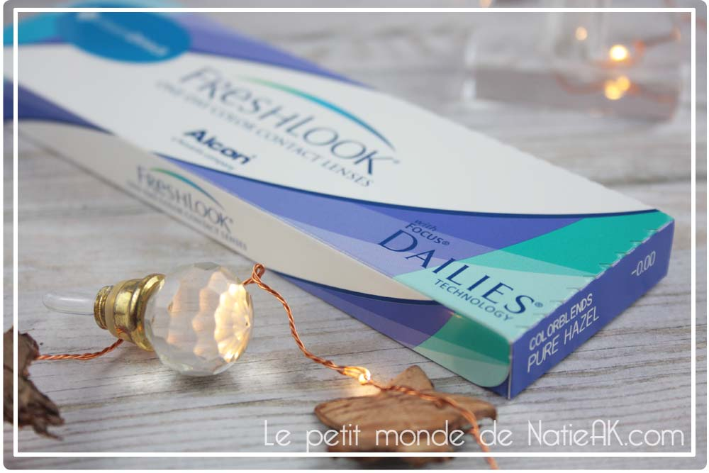 lentille de couleur sans correction