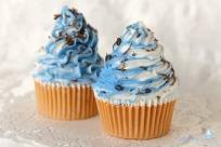 Jabon Cupcake Remolino Azul-Mixto