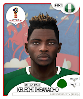 PES 6 Faces Kelechi Iheanacho by BR92