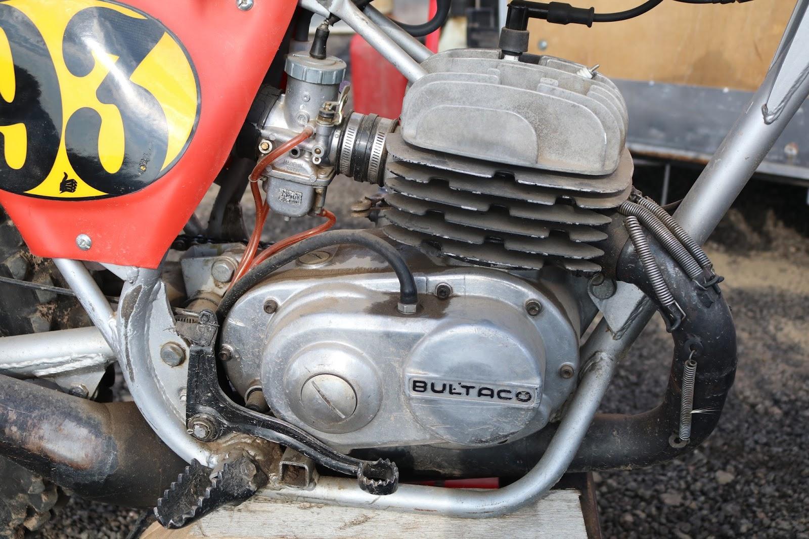 Oldmotodude Bultaco Pursang 93 At The Rocky Mountain