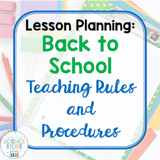 Lesson Planning: Back to School-Teaching Rules and Procedures