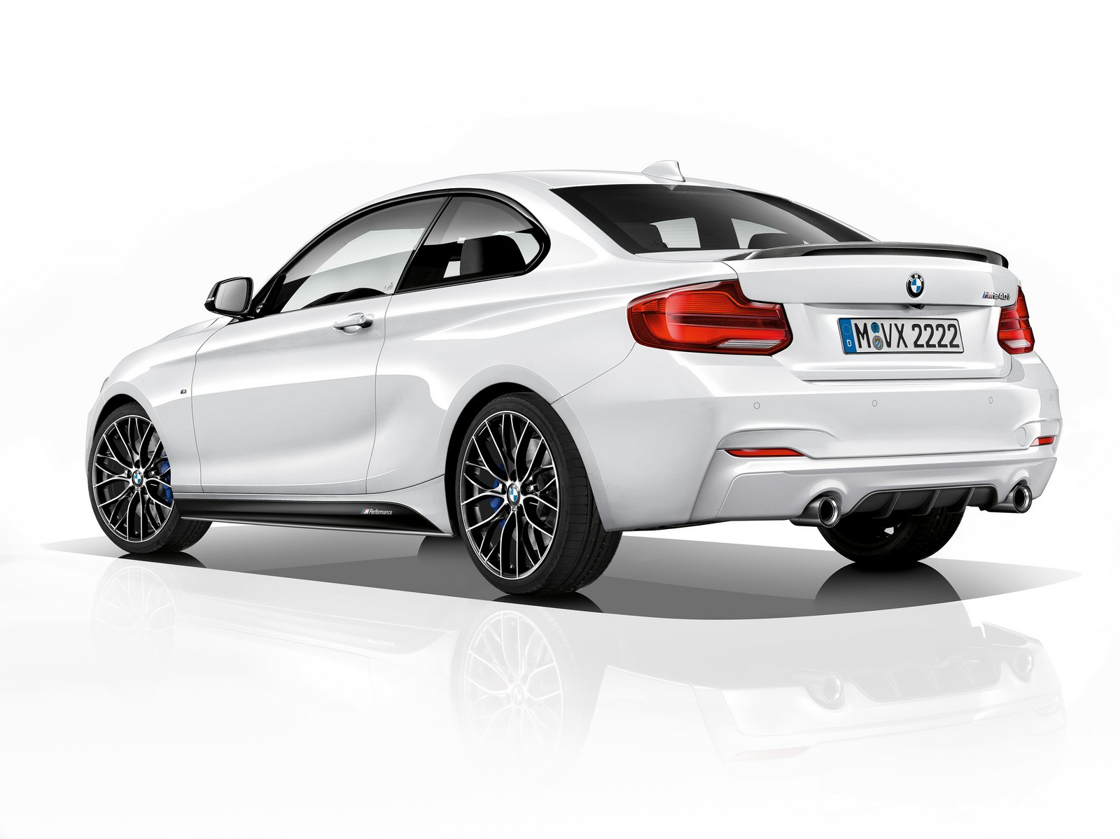 new bmw m240i m performance edition boasts 335 hp and m performance parts carscoops. Black Bedroom Furniture Sets. Home Design Ideas