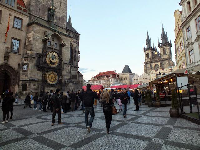 la zona más turística de Praga