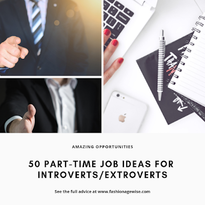 image result 50 Part-Time Job Ideas For Introverts/Extroverts