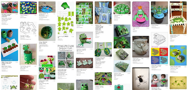 frog crafts on pinterest