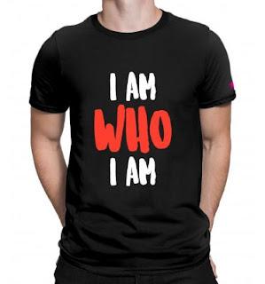 i am who i am, tshirts,