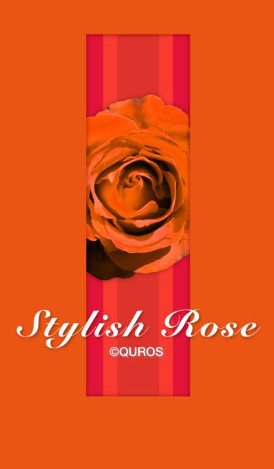 Stylish Rose (orange ver.)