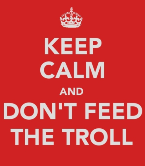 Never Feed the Troll