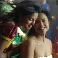 Sameera Reddy and Amala Paul