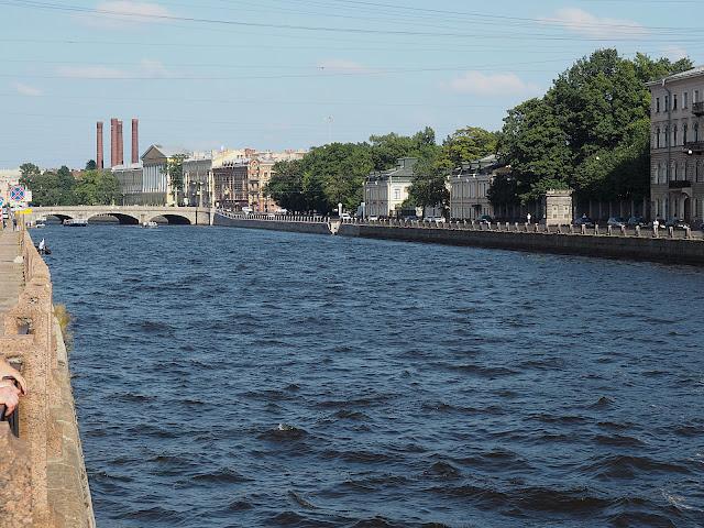 Санкт-Петербург - река Фонтанка (St. Petersburg - Fontanka River)