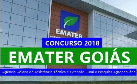 apostila concurso Emater GO 2018
