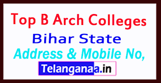 Top B Arch Colleges in Bihar