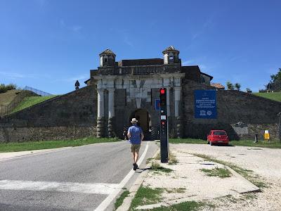 Palmanova: Porta Cividale.