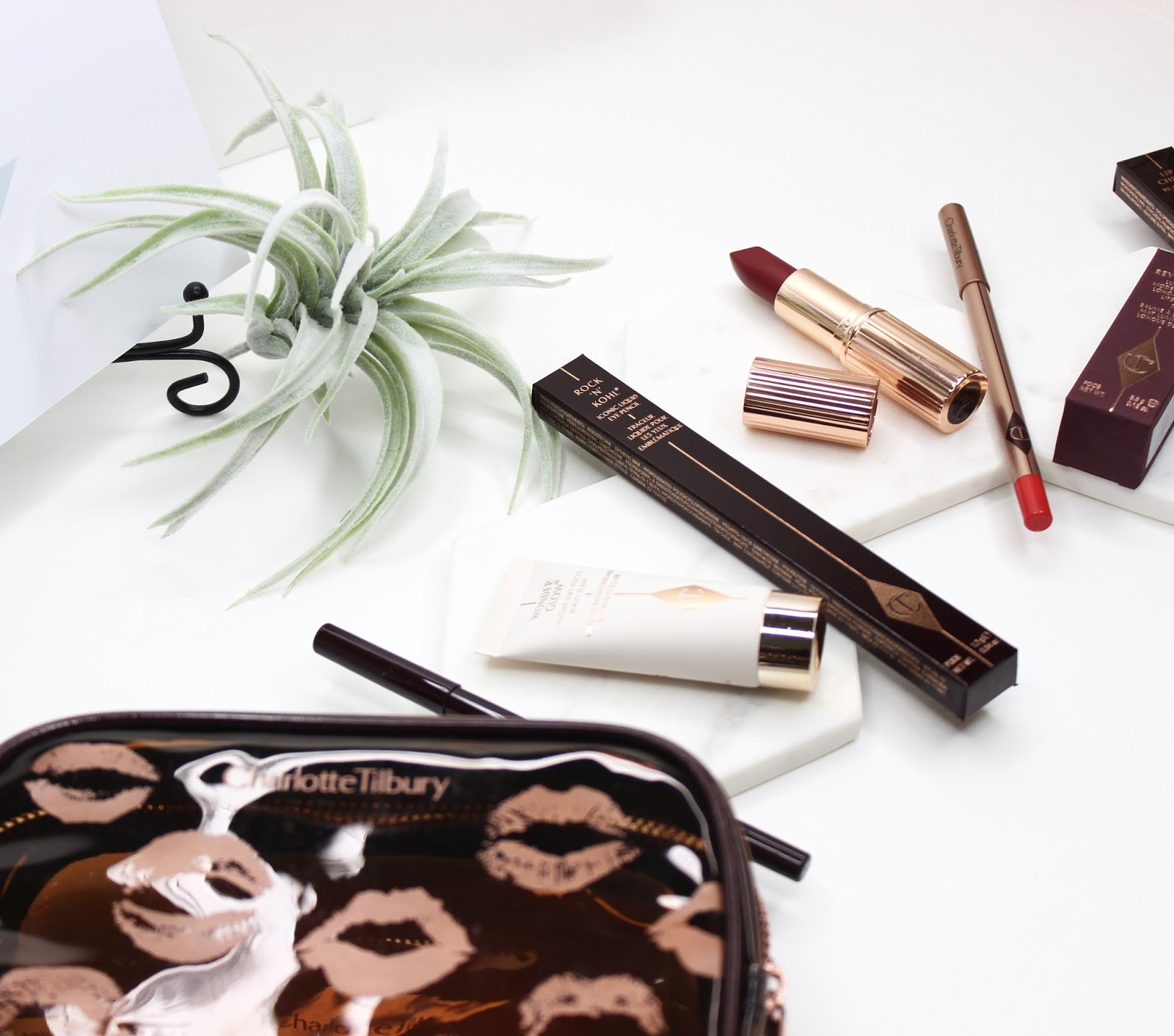 Charlotte Tilbury Quick n easy Red Carpet Party look