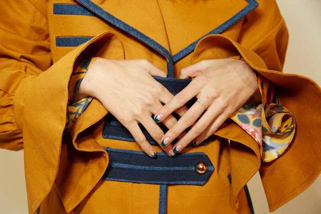 Essie Nails in Tanya Talor FW 2017 Show, Essie Go Overboard