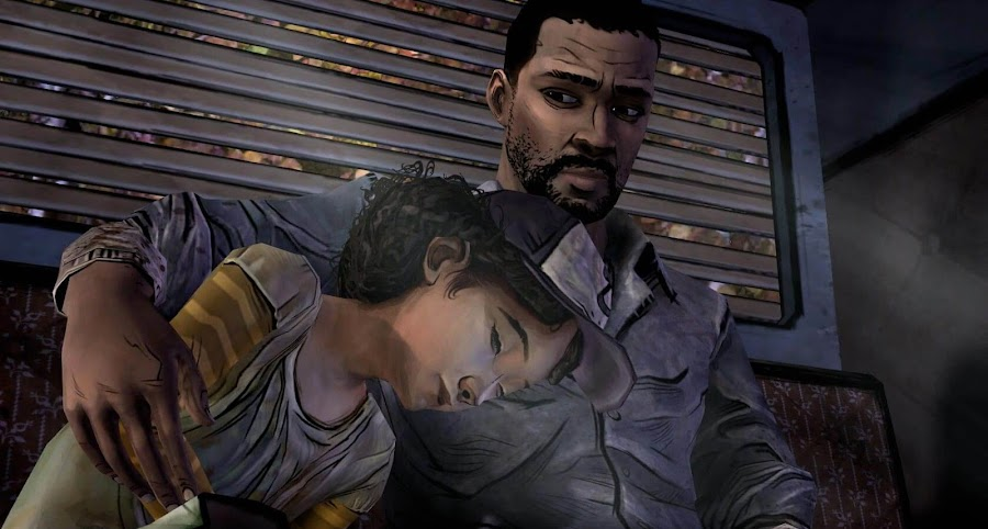 telltale walking dead season one lee everett clementine