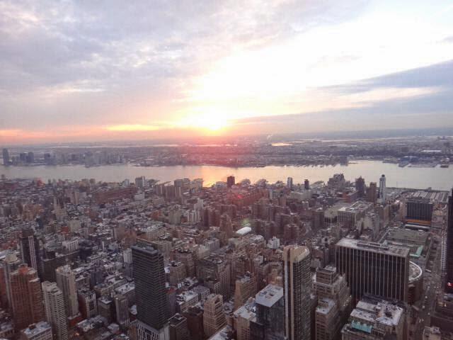 increíbles vistas de Nueva York desde el Top of the Rock