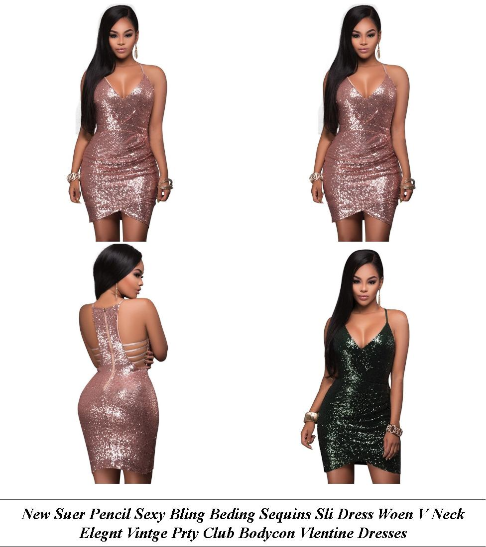 Evening Dresses - Clearance Clothing Sale - Shift Dress - Cheap Womens Summer Clothes