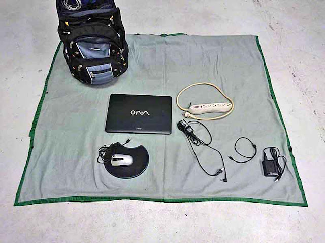 Sony laptop,mouse, pad, surge protector