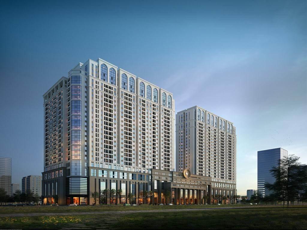 Phối cảnh tổng quan dự án chung cư Roman Plaza Đại Mỗ