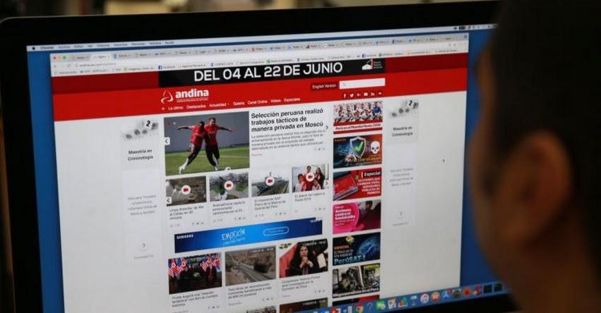 Agencia Andina está de fiesta y celebra hoy 37 años de fundación