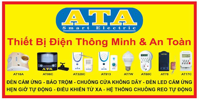 Image result for chuông báo khách ata