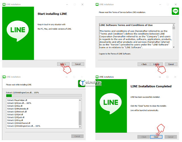 Menginstal LINE di PC