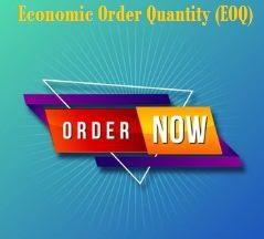 Enhancing Economic Order Quantity (EOQ)