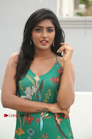 Actress Eesha Latest Pos in Green Floral Jumpsuit at Darshakudu Movie Teaser Launch .COM 0054.JPG