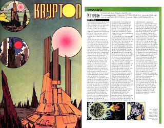 Planeta Kyrpton DC Comics